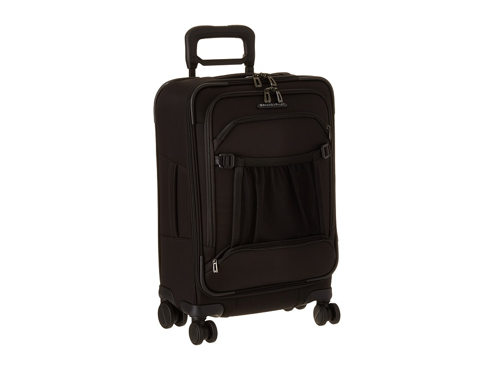 Briggs amp Riley Transcend Domestic Carry On Spinner Black Suiter Luggage