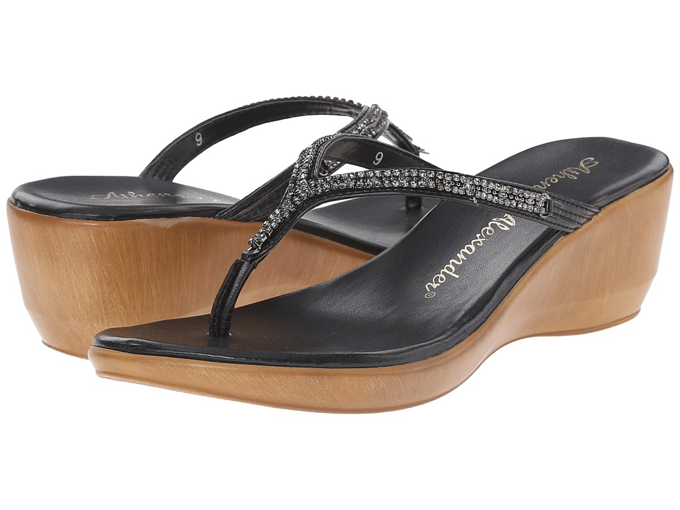 Athena Alexander Colette Black Womens Sandals