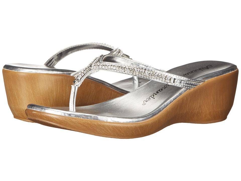 Athena Alexander Colette Silver Womens Sandals