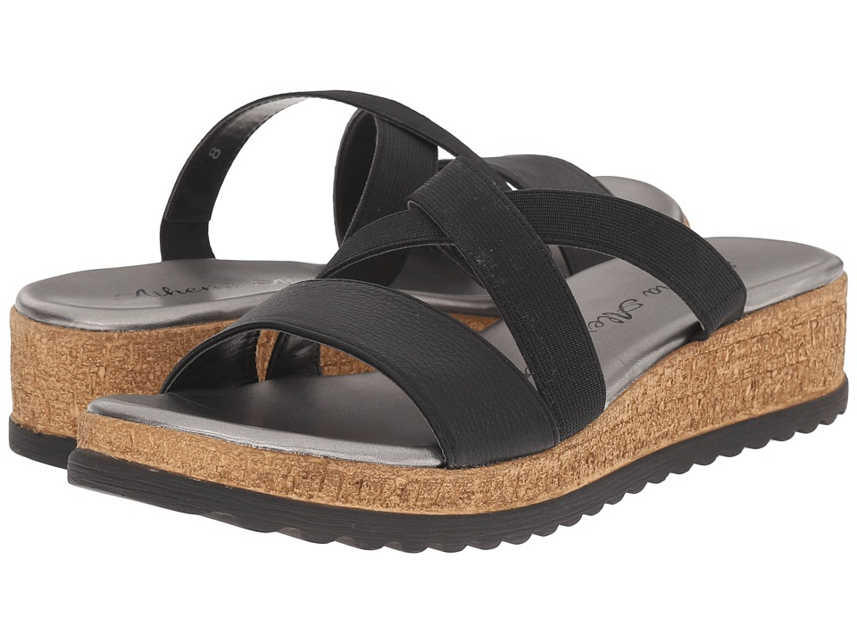Athena Alexander Blast Black Womens Sandals