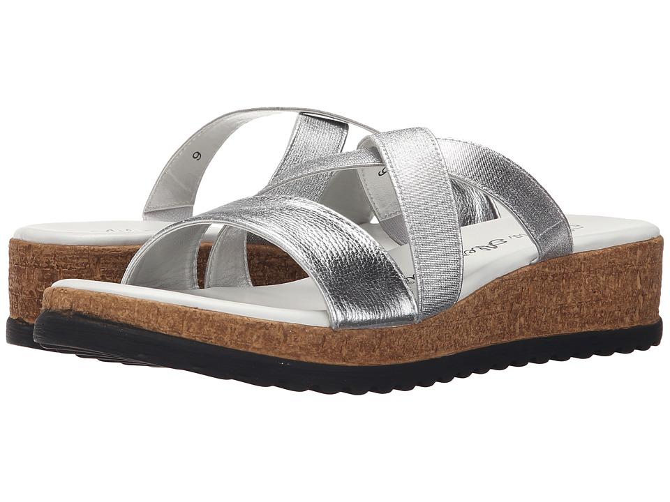 Athena Alexander Blast Silver Womens Sandals