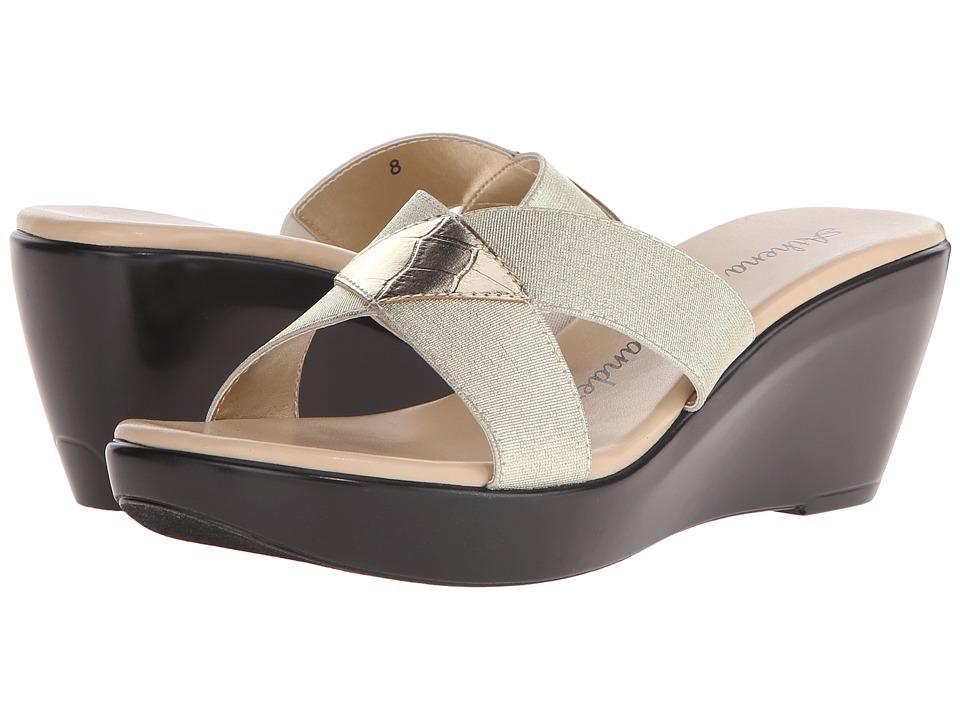 Athena Alexander Benadet Gold Womens Sandals