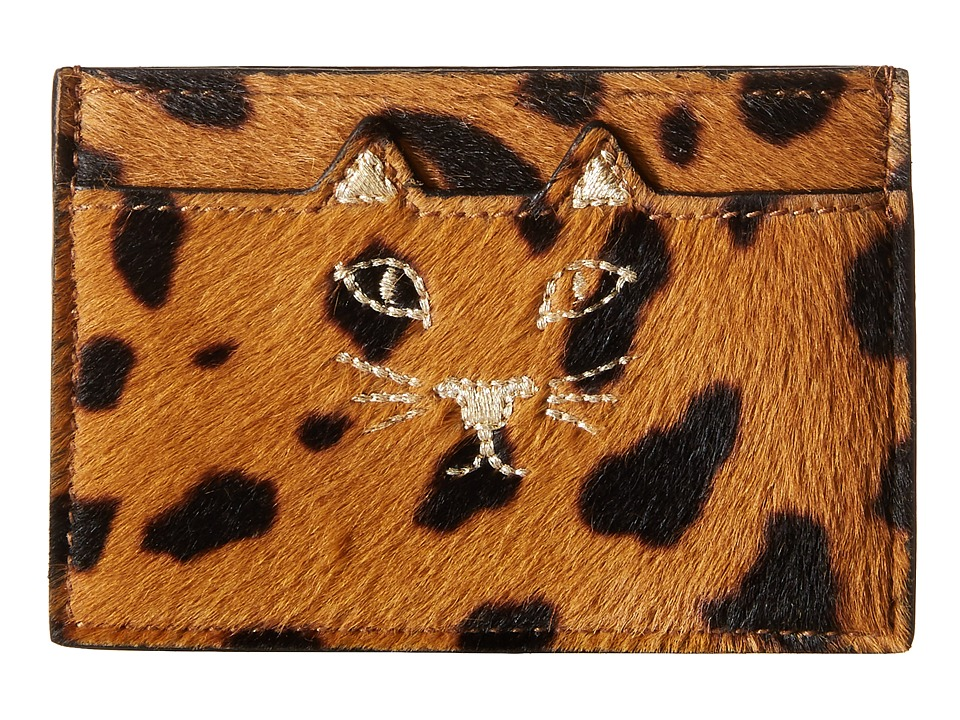 Charlotte Olympia Feline Card Holder Hyena Credit card Wallet