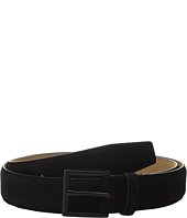 Cole Haan - 32mm Feather Edge Suede Belt with Embossing