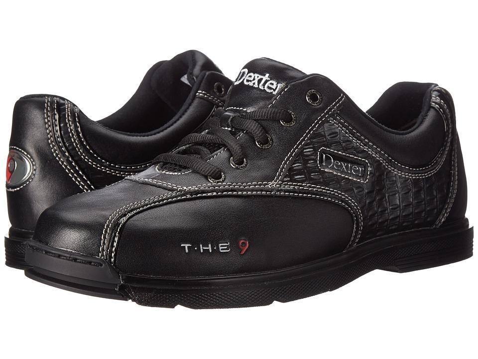 Dexter Bowling - The 9 (Black/Croc) Men's Bowling Shoes