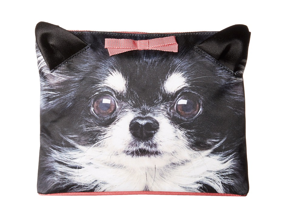 Charlotte Olympia Puppy Pouch Chihuahua Print Wallet