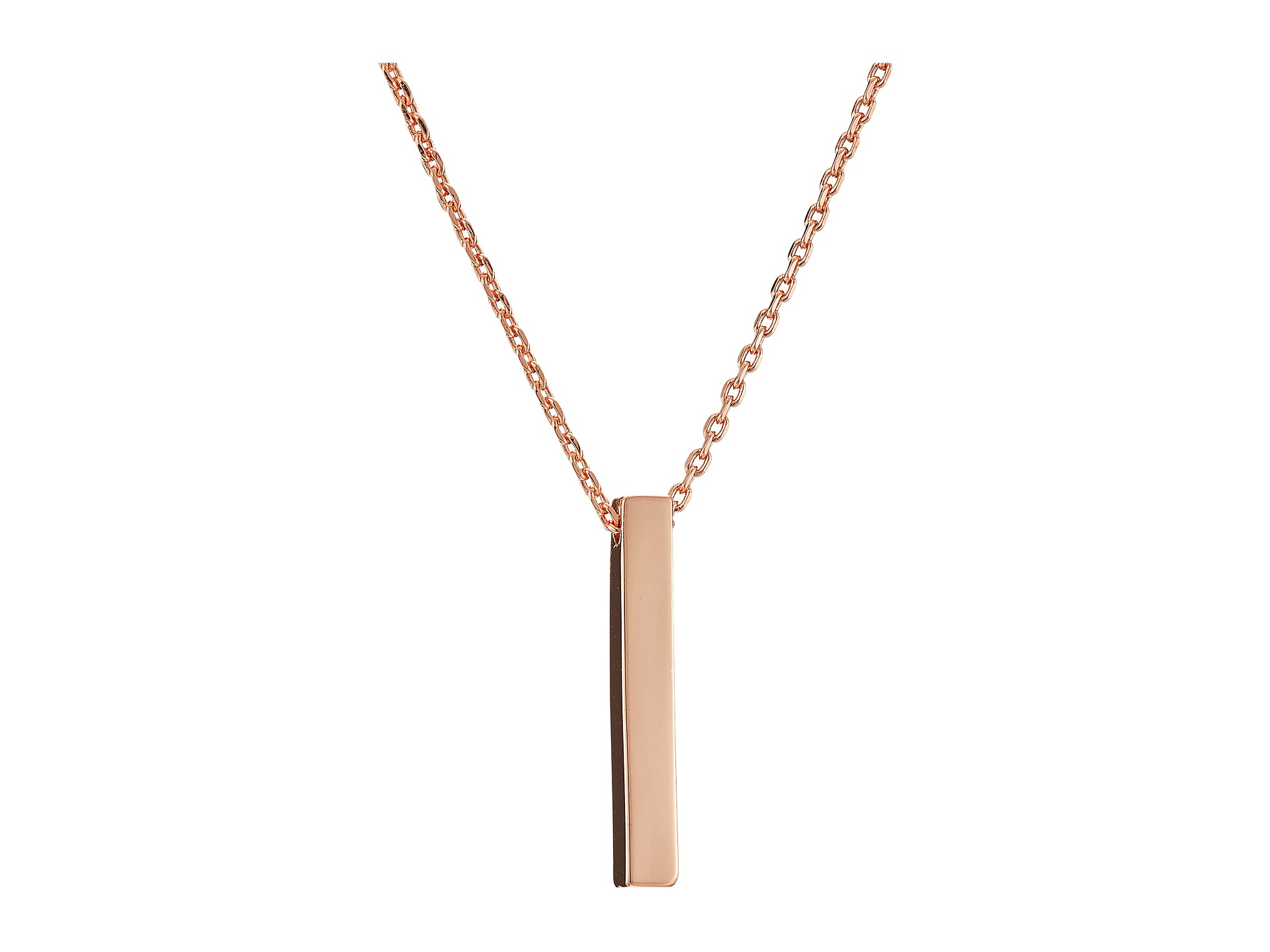 connection bar pendant necklace at zappos