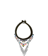 French Connection - Braided Rhinestone Necklace