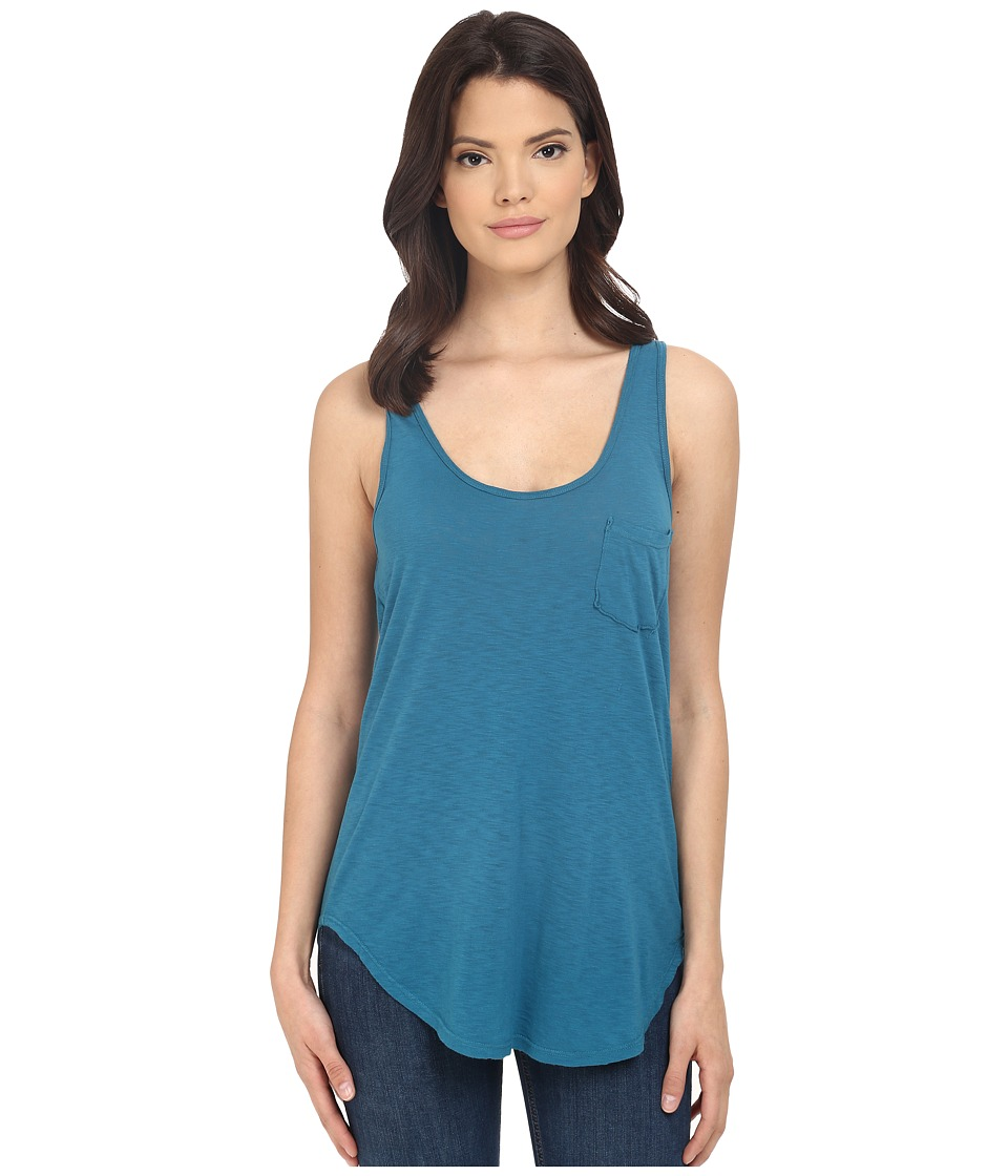 LAmade Boyfriend Tank w/ Pocket Aruba Womens Sleeveless