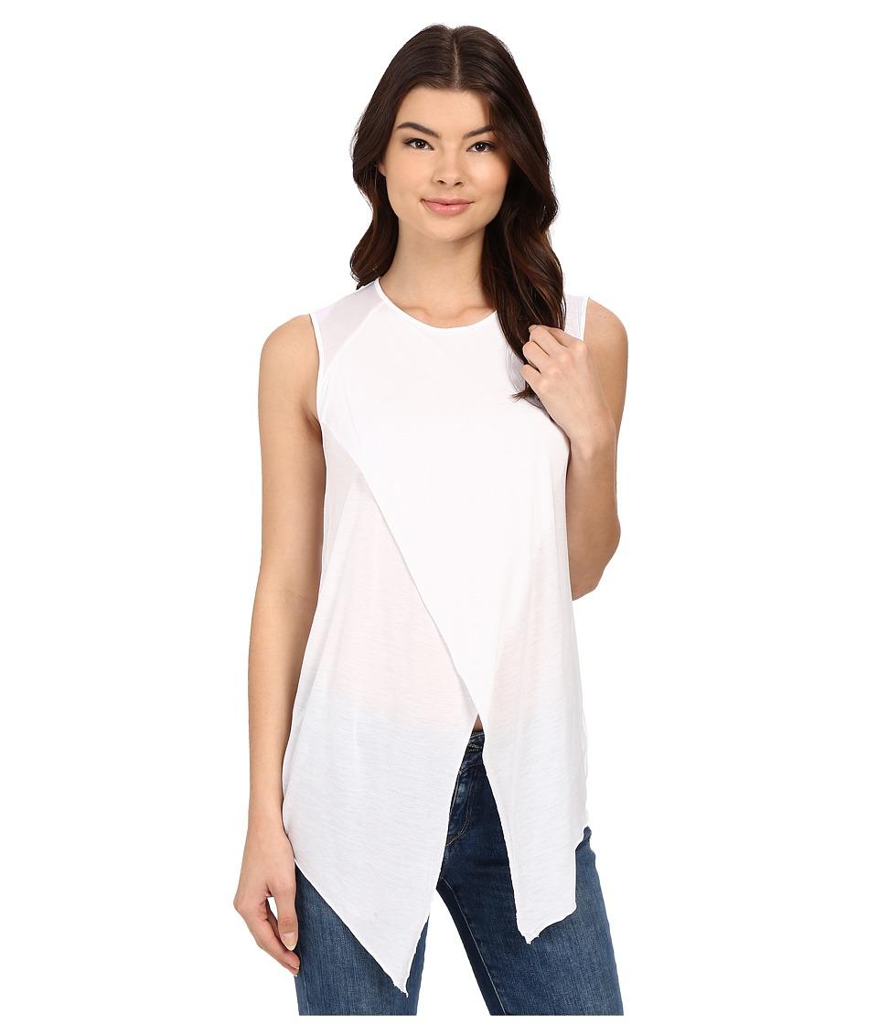 LA Made Ero Muscle Tee (White) Women's Blouse