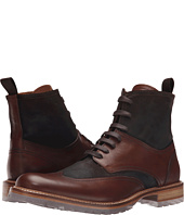 Massimo Matteo - Brushed Suede/Leather Wing Boot