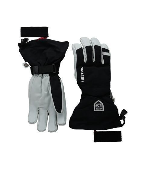 Hestra Army Leather Heli Ski - Black