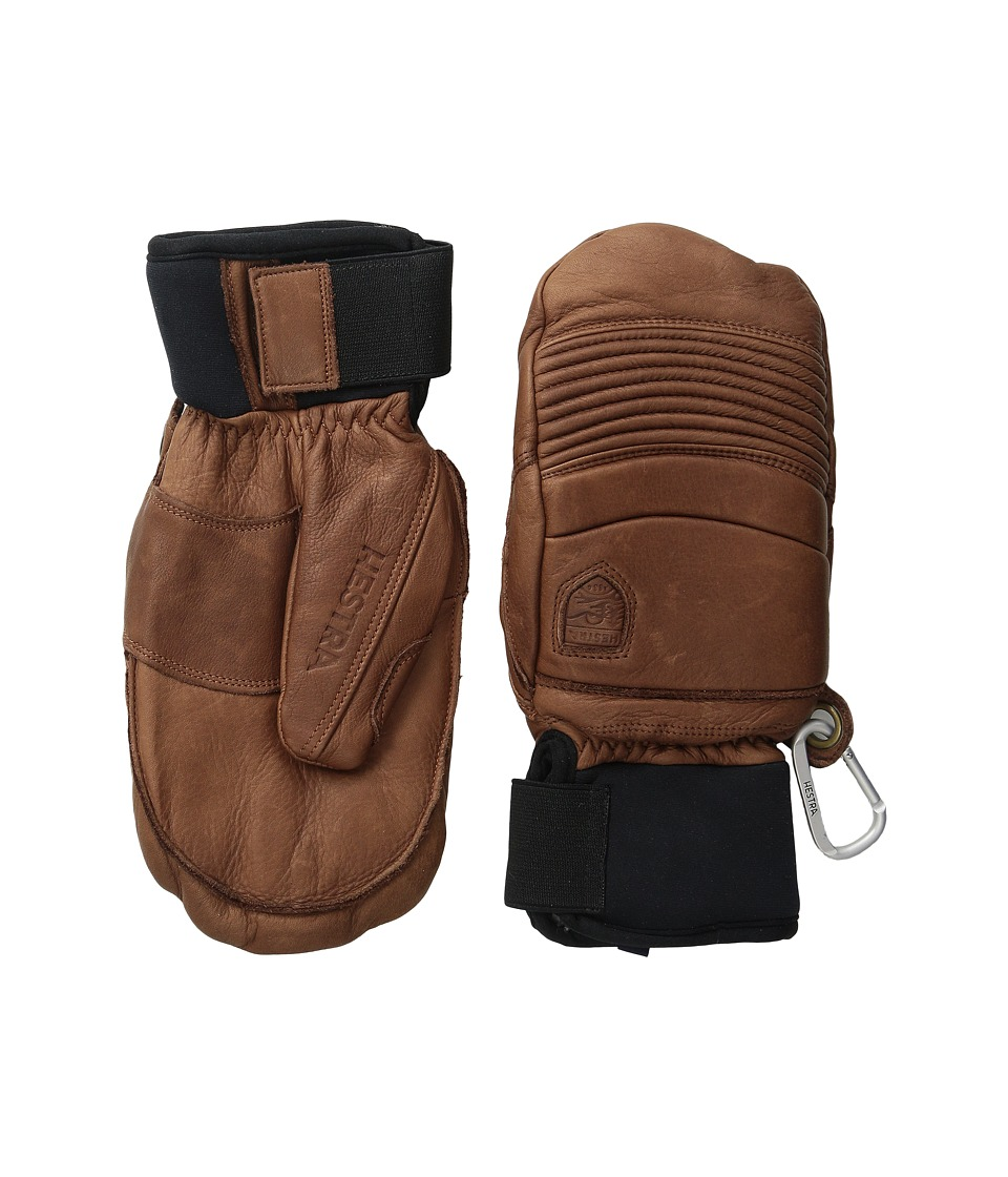 Hestra Leather Fall Line Mitt (Brown) Ski Gloves