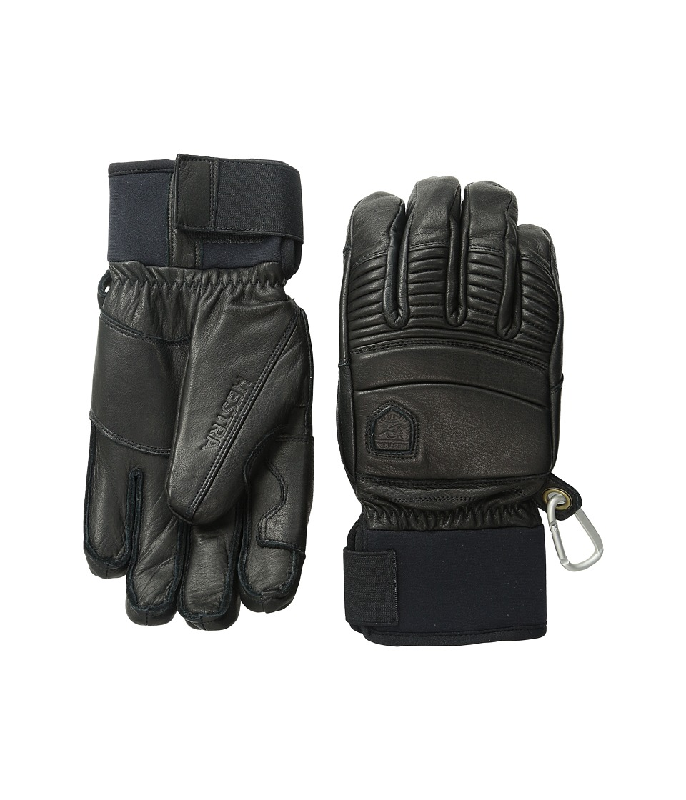 Hestra Leather Fall Line (Black) Ski Gloves
