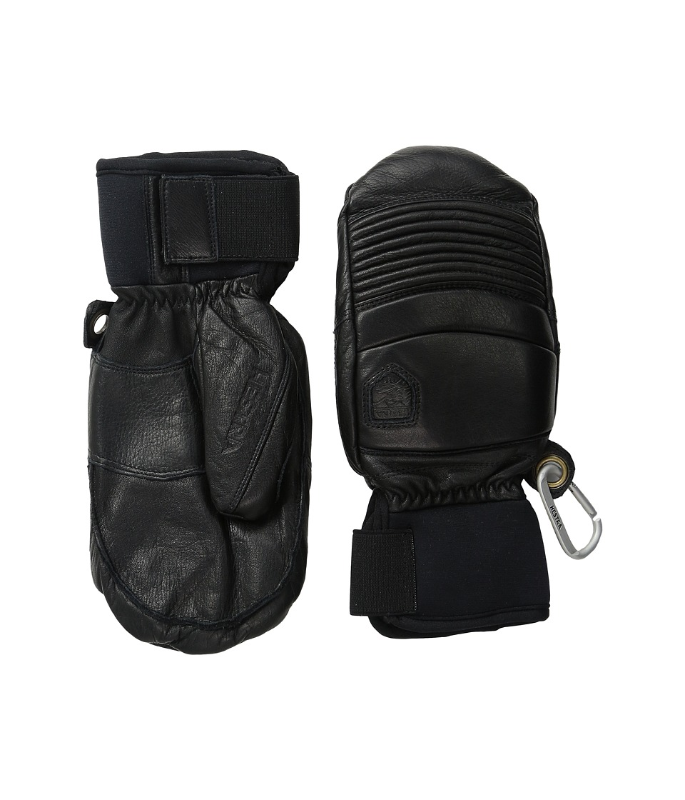 Hestra Leather Fall Line Mitt (Black) Ski Gloves