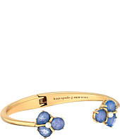 Kate Spade New York - Crystal Cluster Open Hinge Cuff Bracelet