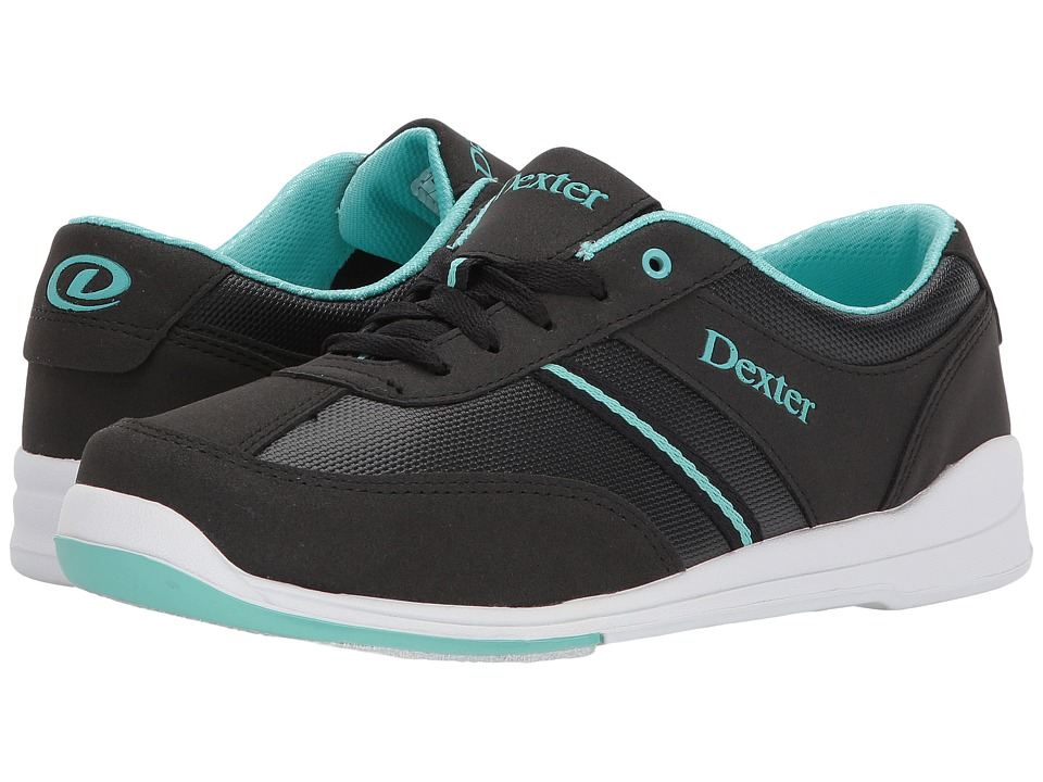 Dexter Bowling - Dani (Black/Turquoise) Womens Bowling Shoes