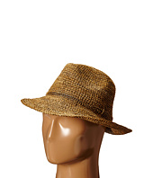Hat Attack - Raffia Crochet Classic Fedora with Sparkle Trim