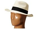 Hat Attack Original Panama Fedora with Classic Bow Trim