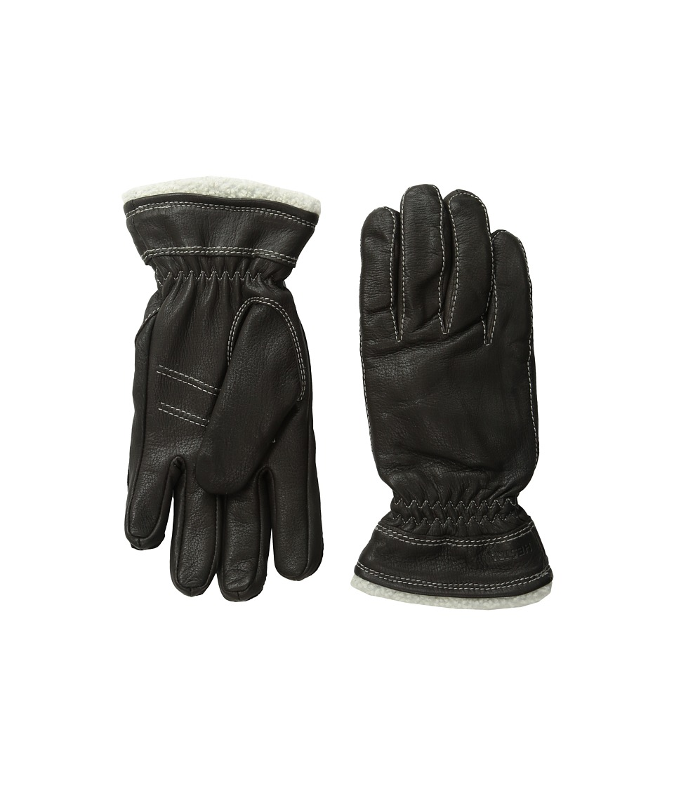 Hestra Deerskin Primaloft (Dark Brown) Ski Gloves