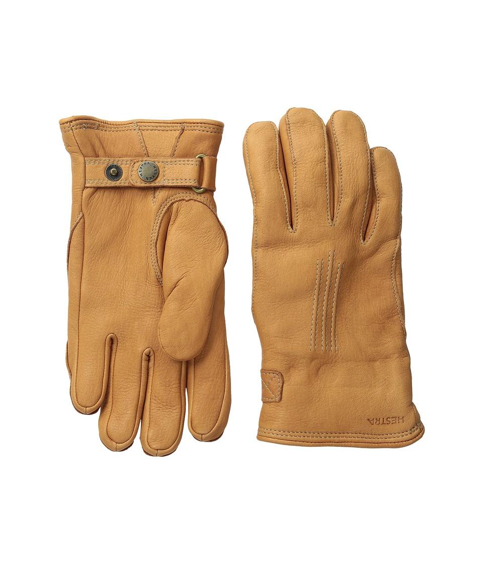 Hestra Deerskin Lambskin Cork Ski Gloves