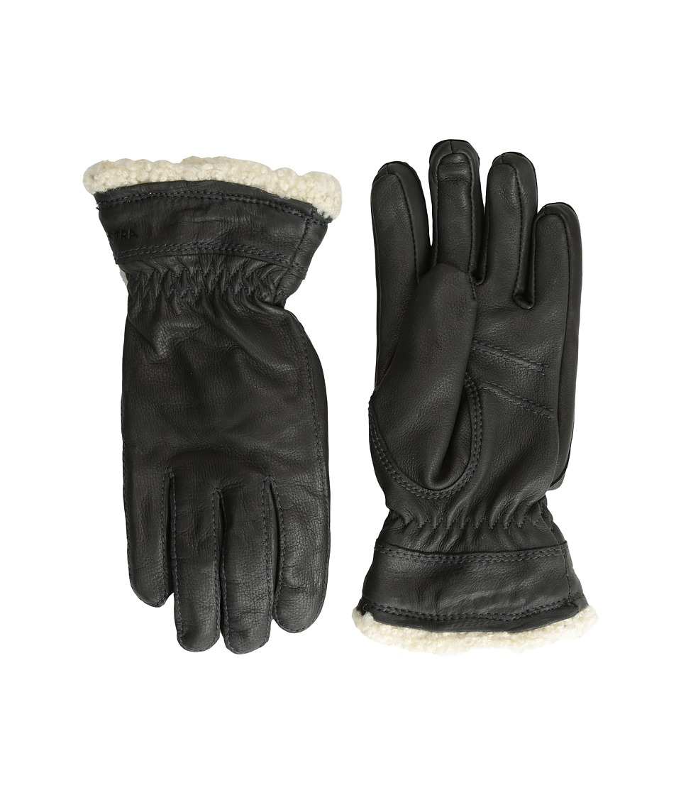 Hestra - Deerskin Primaloft (Black) Ski Gloves