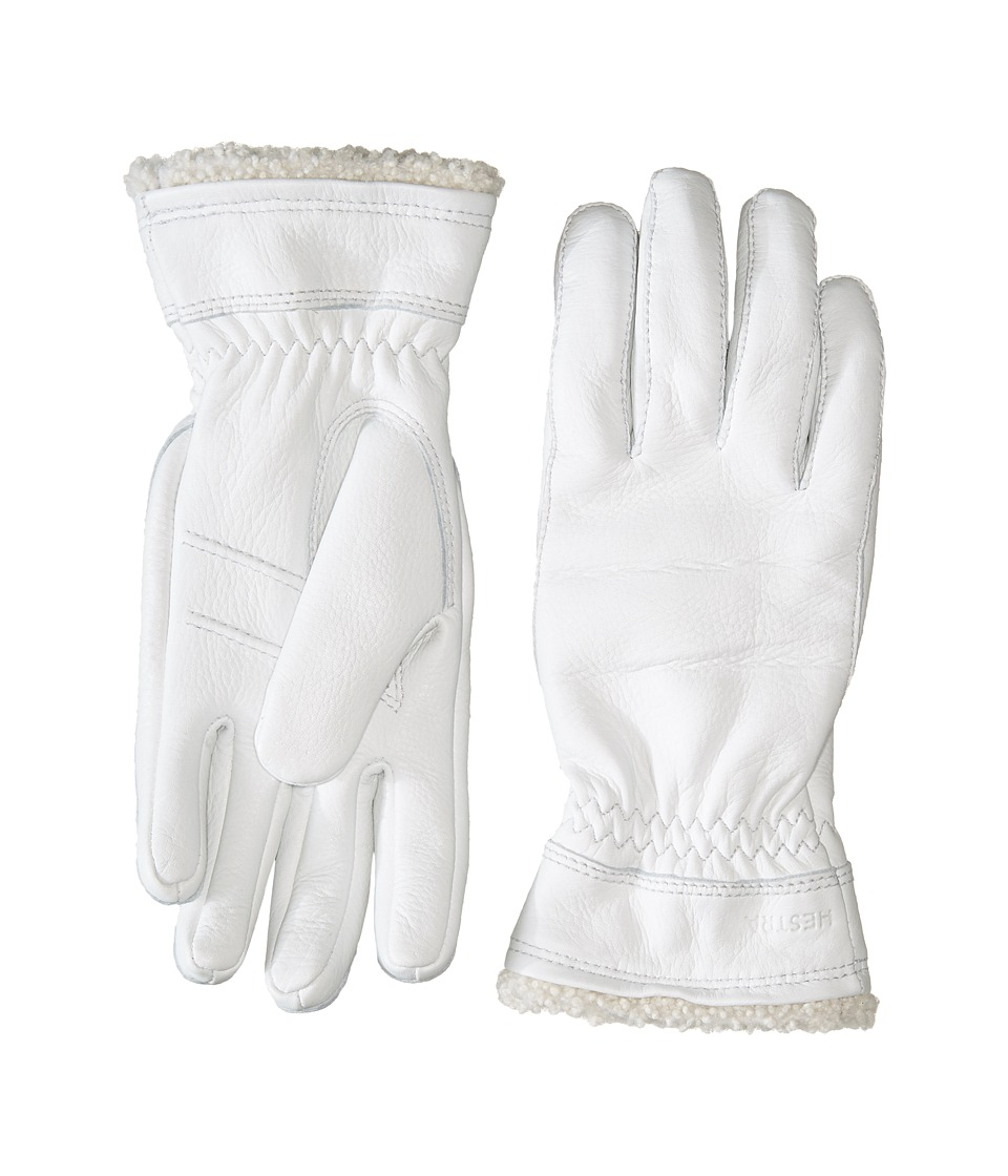Hestra Deerskin Primaloft (Off-White) Ski Gloves