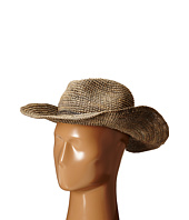 Hat Attack - Raffia Crochet Continental with Sparkle Trim