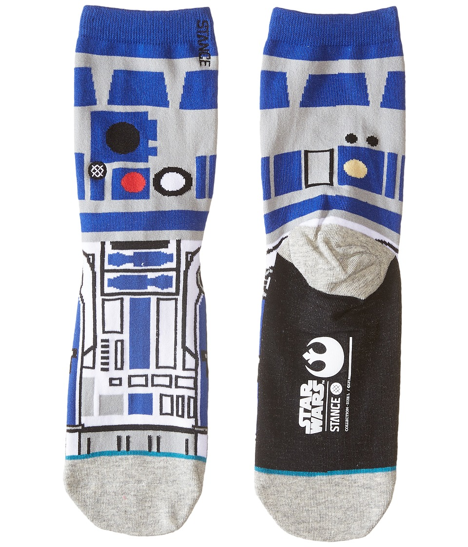 Stance Artoo Little Kid/Big Kid Blue Mens Crew Cut Socks Shoes