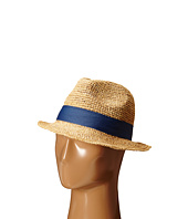 Hat Attack - Raffia Crochet Short Brim with Bi Color Trim