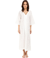 Oscar de la Renta - Embroidered Cotton Caftan