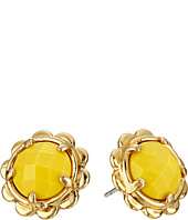 Kate Spade New York - Scalloped Edge Studs Earrings