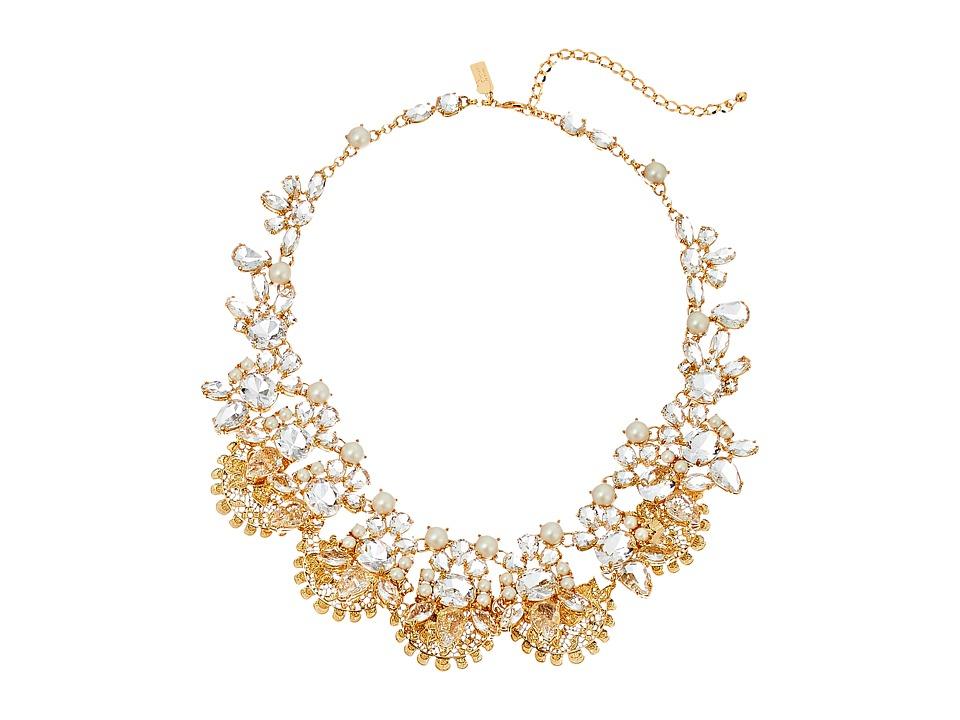 Kate Spade New York Chantilly Gems Statement Necklace Cream/Multi Necklace