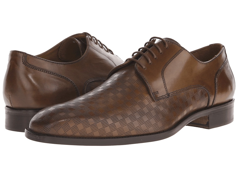 Massimo Matteo PT Lace with Mixed Material (Brandy) Men