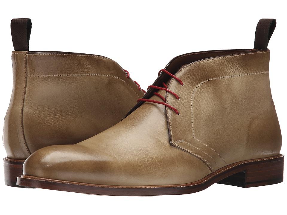 Massimo Matteo 3 Eye Chukka Taupe Mens Lace up Boots