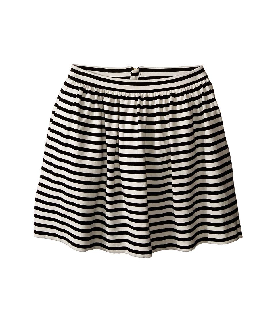 Kate Spade New York Kids Coreen Skirt Big Kids Black/Cream Girls Skirt