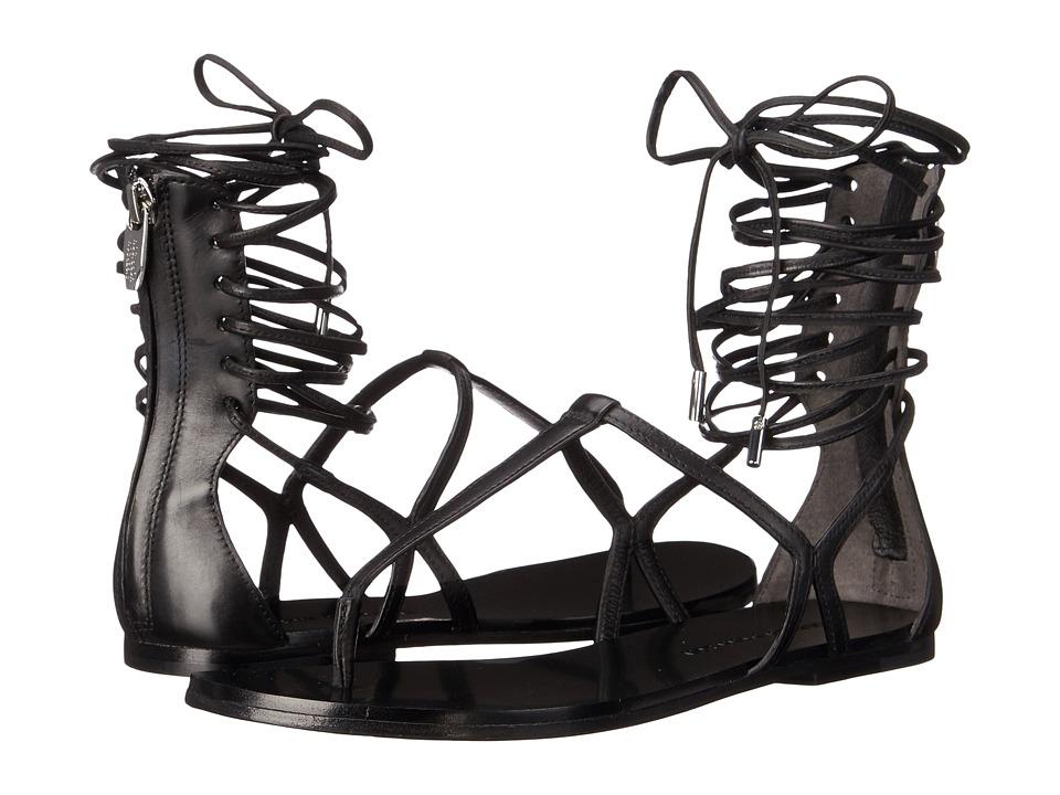 Sigerson Morrison Braze Black Leather Womens Shoes
