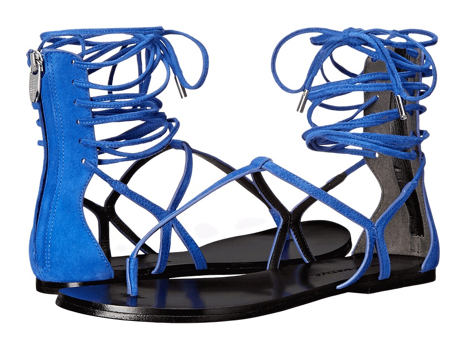 Sigerson Morrison Braze New Blue Suede Womens Shoes