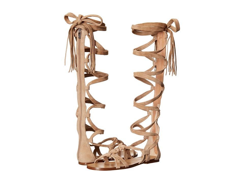 Sigerson Morrison Boni Light Natural Suede Womens Shoes