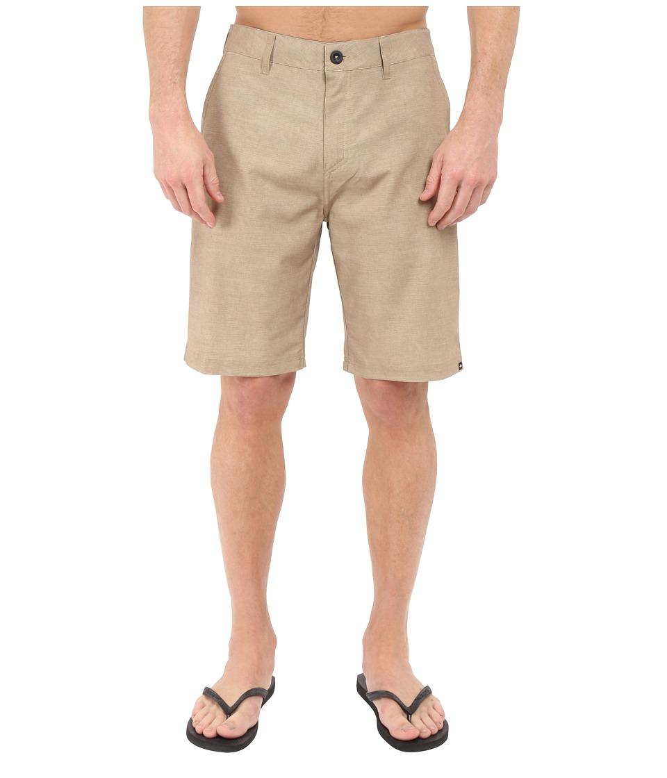 Quiksilver Platypus Hybrid Shorts (Elmwood) Men