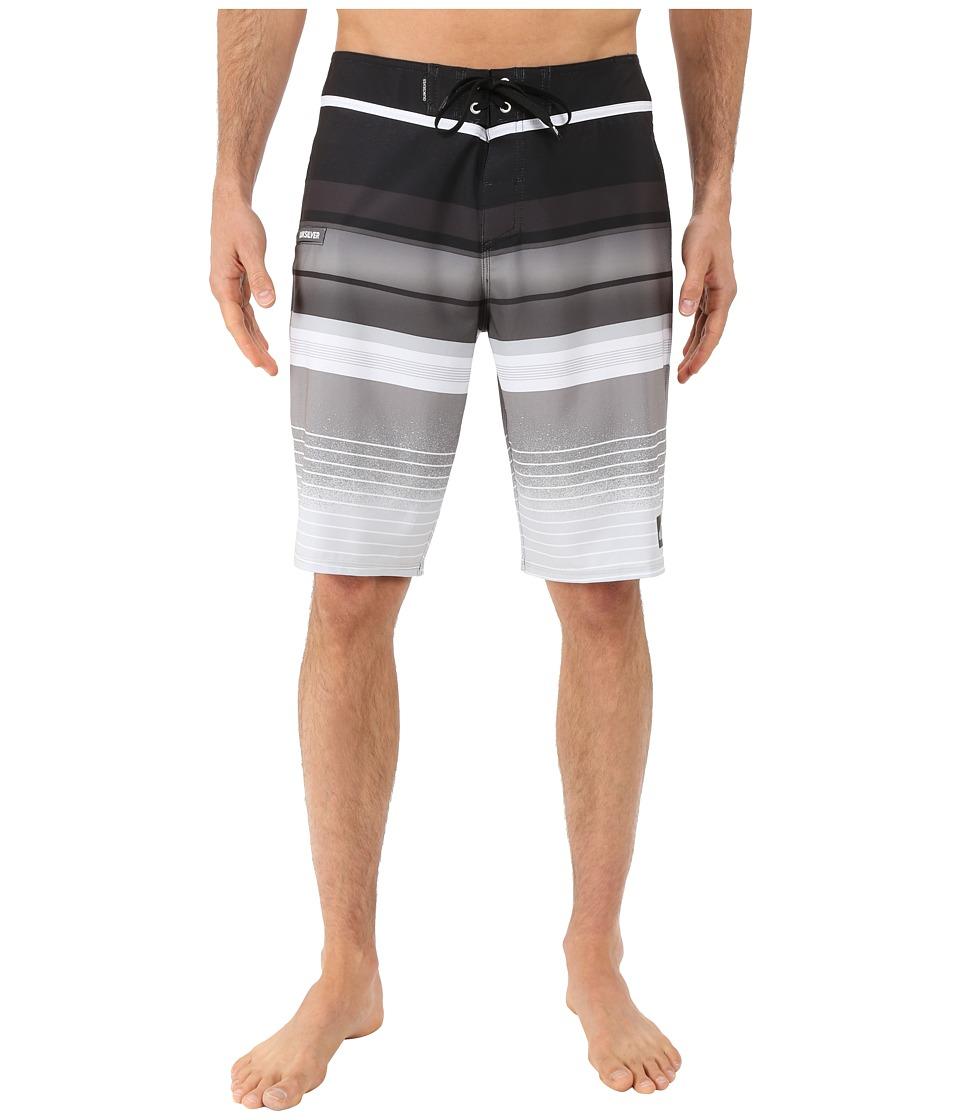 Quiksilver Everyday Stripe 21 Boardshorts Black Mens Swimwear