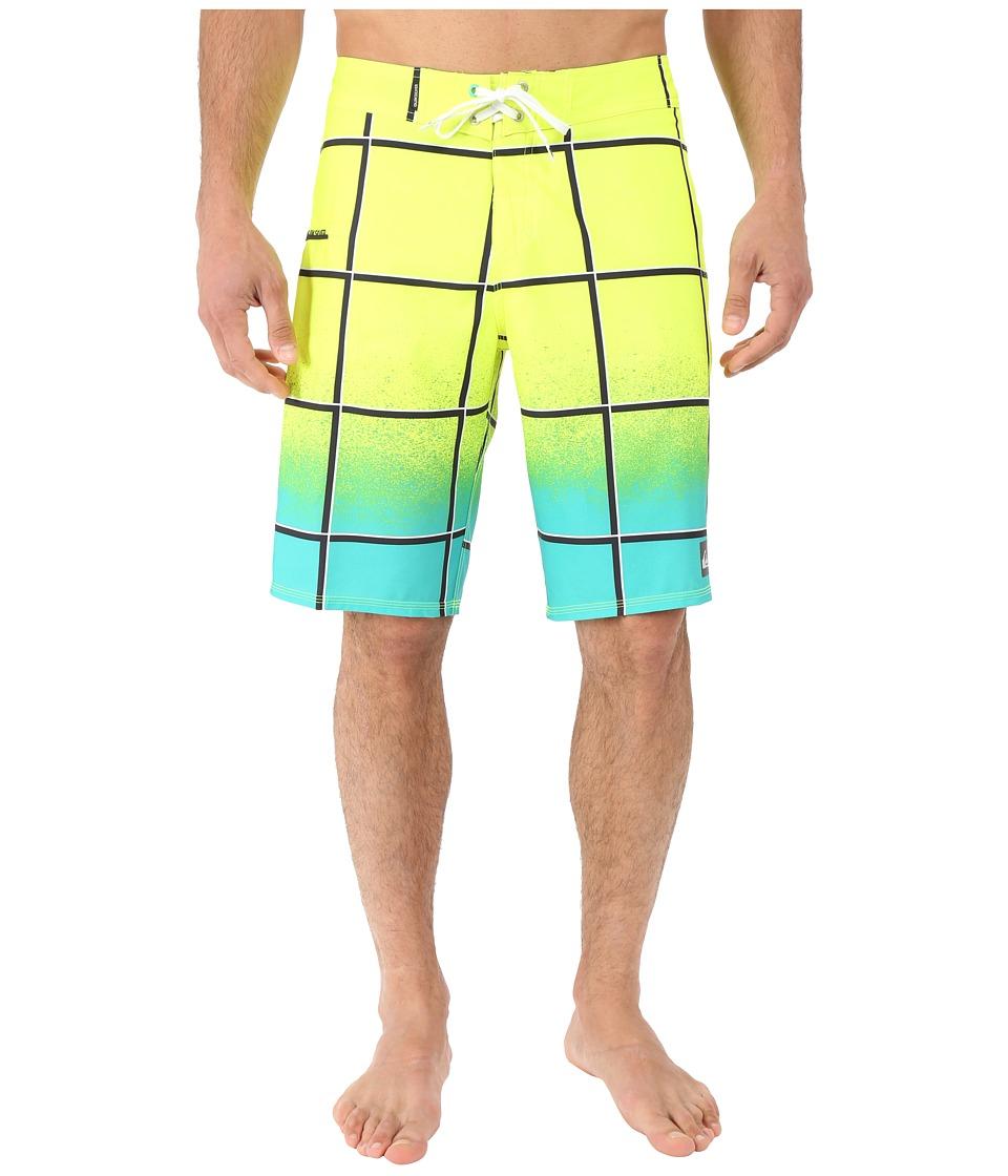 Quiksilver Electric Stretch 21 Boardshorts Pool Green Mens Swimwear