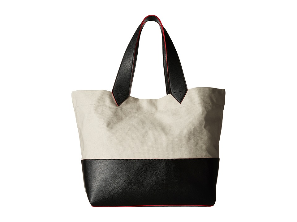 Echo Design - Color Block Sydney Tote (Black) Tote Handbags