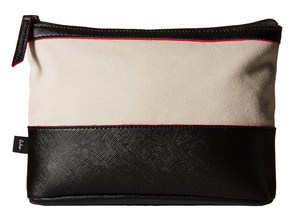 Echo Design - Color Block Fiji Pouch (Black) Clutch Handbags