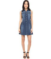 RED VALENTINO - Sleeveless Denim Dress