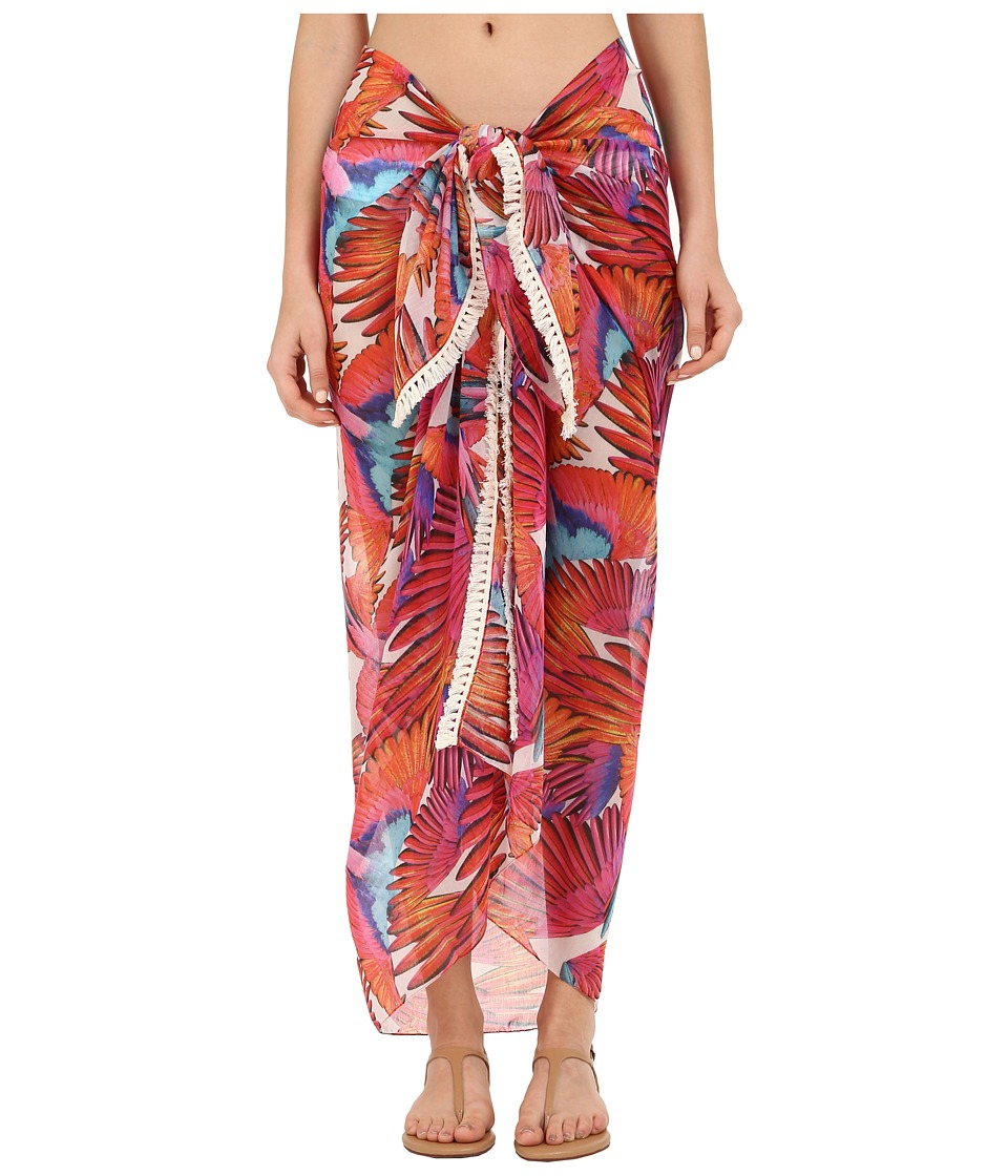Echo Design Birds of Paradise Pareo Cover Up Multi Scarves