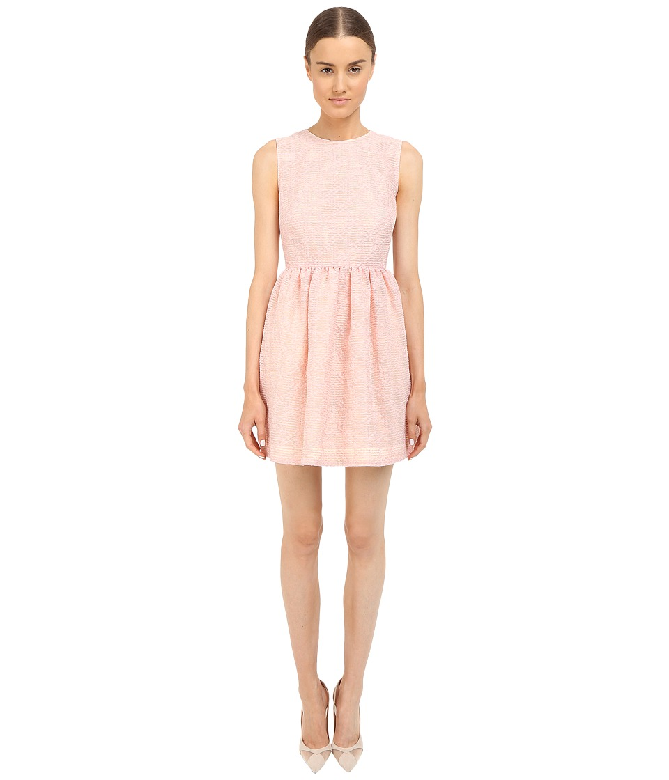 RED VALENTINO Fit Flare Tank Dress Pink Womens Dress