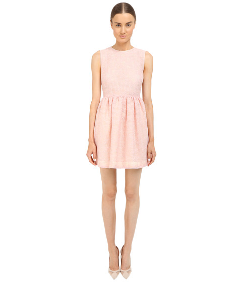 RED VALENTINO Fit & Flare Tank Dress
