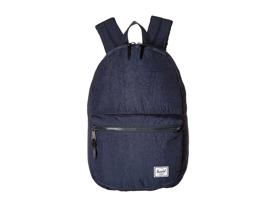 Herschel Supply Co. Lawson Total Eclipse/Black Veggie Tan Leather Backpack Bags