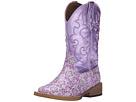 Roper Kids Lavender Square Toe Boot (Toddler/Little Kid) (Purple)